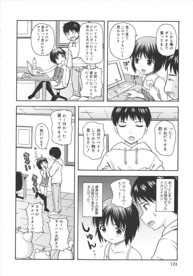 【エロ漫画】専門学校の童顔な後輩に懐かれてしまって、すっかり自分のアパートに居座っているんだが…w【無料 エロ同人】 (4)