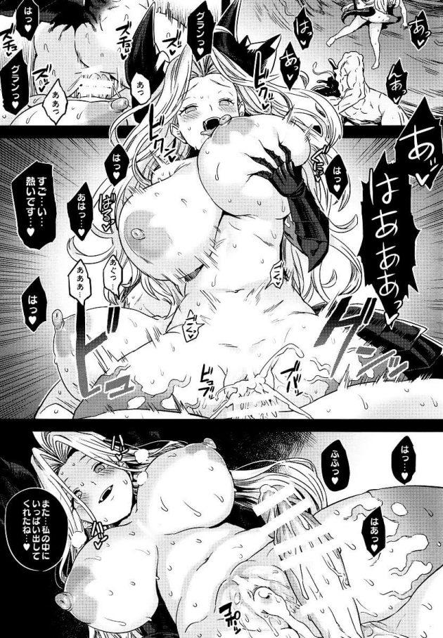 【エロ同人 グラブル】モニカやカタリナ・アリゼたちが雌豚扱いされて腹ボコファックされたりニプルファックされてるぞw【無料 エロ漫画】 (2)